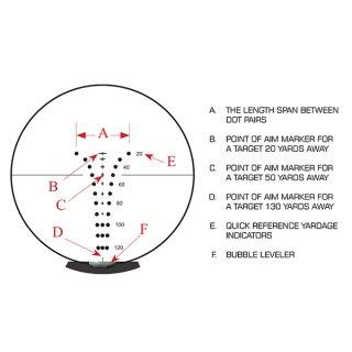 UTG Crossbow Zielfernrohr 1,5-6x36  OP3-G1563CRWQ
