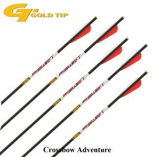 "6 Stück 22"" GoldTip Swift Pro Armbrust Bolzen Carbon"