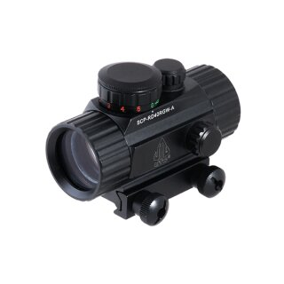 UTG Red/Green Center Dot, SCP-RG40RGW-A